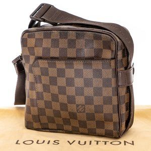 LOUIS VUITTON Damier Ebene Crossbody